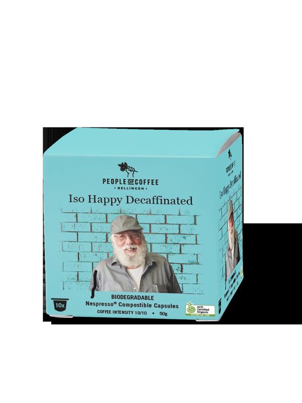 Iso Happy Decafe Caps